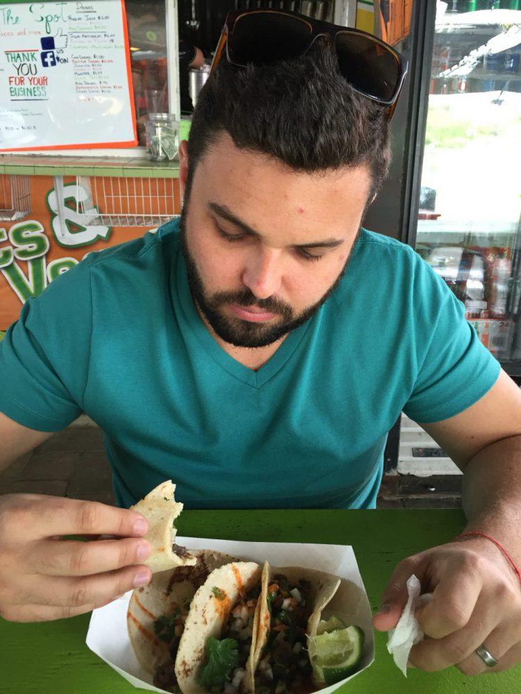 Tacos, The Spot, Mexican Food, CircaWanderlust, Circa Wanderlust, Tim McKenna