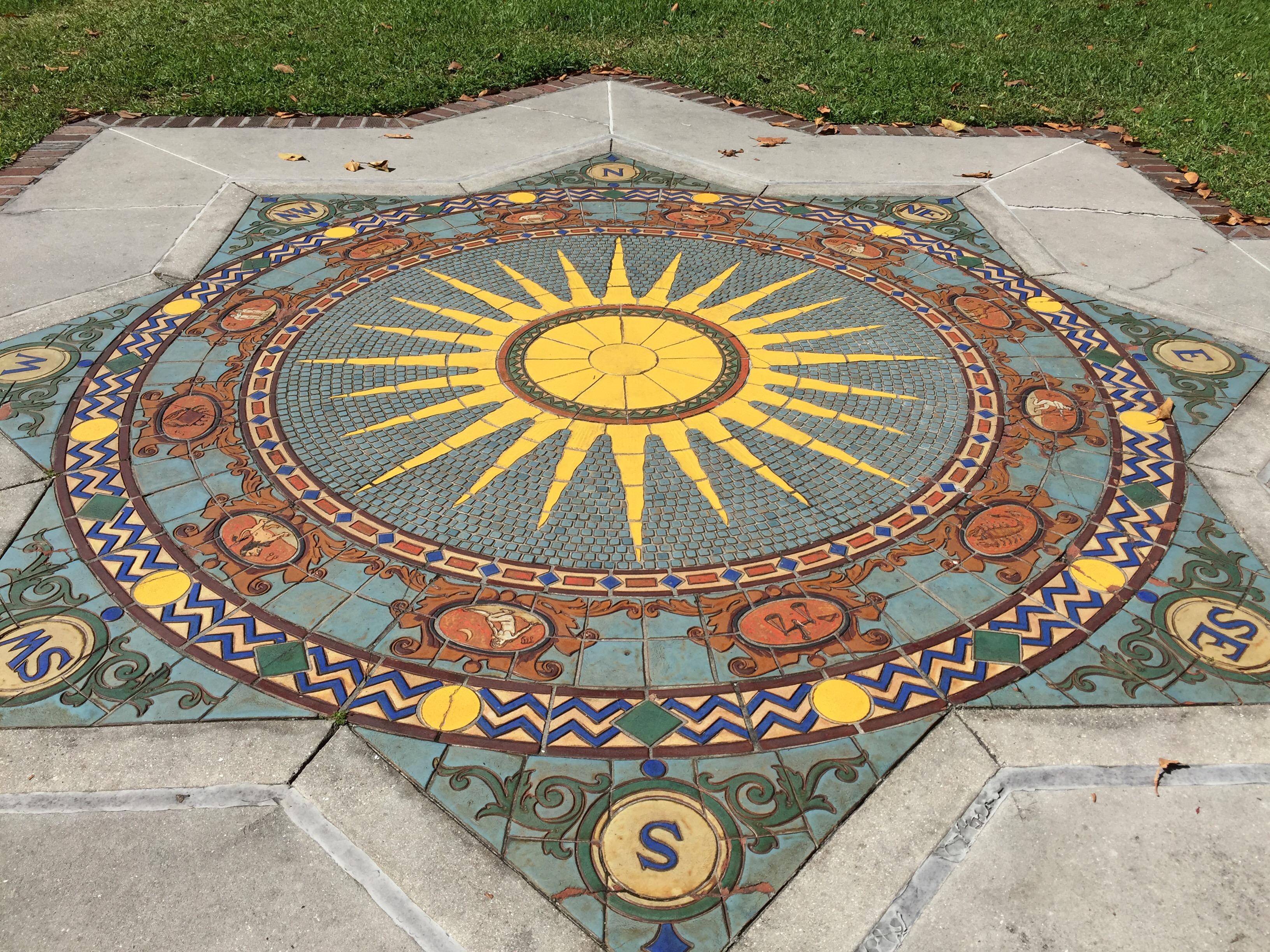 Ca' D' Zan, John Ringling, Ringling Estate, Sarasota, Ringling Circus, Mosaic, Tile