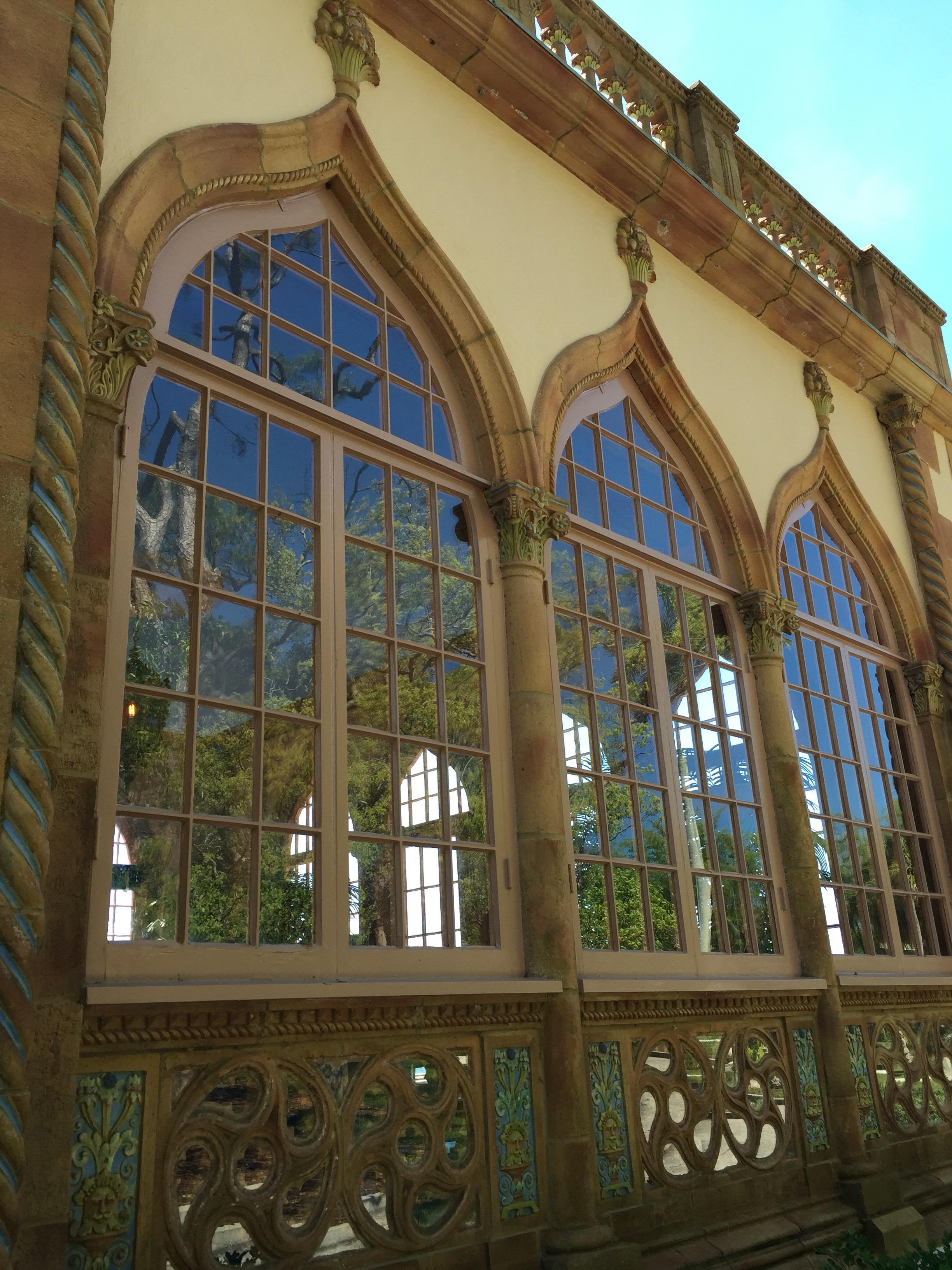 Ca' D' Zan, John Ringling, Ringling Estate, Sarasota, Ringling Circus, Windows